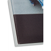 Uitvergroting van het oppervlak, alleen druk op canvas