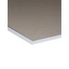 Achterblad van grijs karton