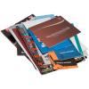 Gedrukt op kunstdrukpapier, offsetpapier of kringlooppapier. Optionele veredeling van de omslag naar keuze