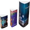 Prisma: 3-hoekige display in drie verschillende maten