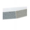Materiaal: KAPA-plast; ondanks een materiaaldikte van 10mm heeft dit plaatmateriaal toch een gering eigen gewicht.