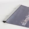 Het polyesterdoek is van duurzame kwaliteit en antistatisch, brandklasse B1 (afb. soortgelijk)