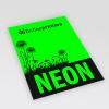 Neonpapier groen (afb. soortgelijk)
