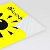Neonpapier geel (afb. soortgelijk)
