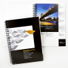 Neutraal papierstalenboek (zonder opdruk van ons logo)
