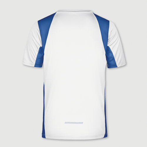 wit / koningsblauw