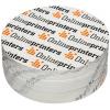 Transparante outdoor stickers: u heeft de keuze uit verschillende formaten, rond of hoekig