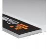 De kant van de blokverlijming kunt u zelf kiezen. Met stevig grijs kartonnen achterblad