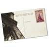 Voorbeeld: Individuele achterzijde van een postkaart (postzegels zijn niet inbegrepen bij de levering)