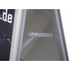 Dankzij de anti-reflexbeschermfolie is het stoepbord absoluut weerbestendig.