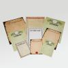 Drie formaten, veel verschillende papiervarianten en een verbluffende keuze van templates…
